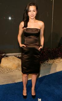 China Chow at the Alexander McQueen Store opening.