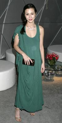 China Chow at the W Magazine's Golden Globe Glamour Party.