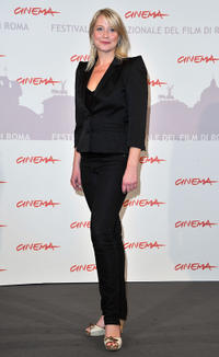 Trine Dyrholm at the photocall of