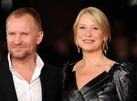 Ulrich Thomsen and Trine Dyrholm at the premiere of
