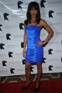 Megalyn Echikunwoke at the New York premiere of