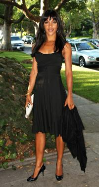 Megalyn Echikunwoke at the Black and White Gala for Barack Obama.