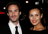 Joseph Fiennes and Maria Dolore at the premiere of