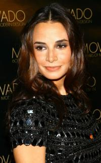 Mia Maestro at the celebration for Movado's 60 years of modern design.