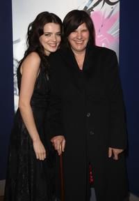 Roxane Mesquida and Catherine Breillat at the premiere of