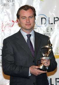 Christopher Nolan at the ShoWest awards ceremony.