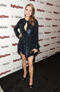 Brooke Nevin at the Peter Travers and Editors of Rolling Stone Host Awards Weekend Bash in California.