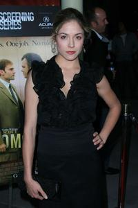 Brooke Nevin at the screening of