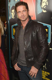 Gerard Butler at the California premiere of