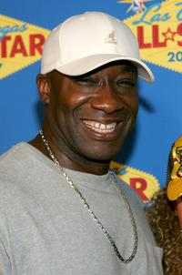 Michael Clarke Duncan at the 2007 NBA All-Star Game.