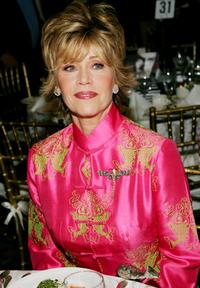 Jane Fonda at the 2005 National Board of Review of Motion Pictures Awards ceremony.