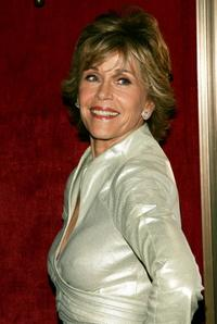 Jane Fonda at the New York premiere of