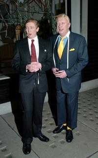 Paul Whitehouse and Mark Williams at the Stella McCartney store.