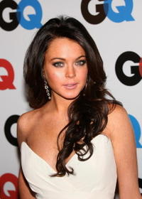 Lindsay Lohan at the GQ Magazine 2006 Men Of The Year Dinner.
