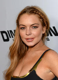 Lindsay Lohan at the California premiere of