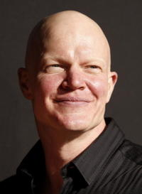 Derek Mears at the L.A. premiere of