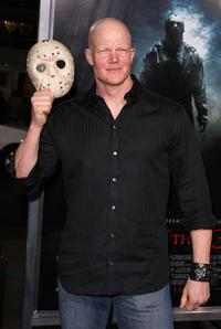 Derek Mears at the Los Angeles premiere of