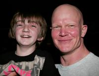 Caleb Guss and Derek Mears at the Anchor Bay Entertainment's Jason Voorhees reunion.