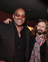 Ken Foree and director Rob Zombie at the after party of the premiere of