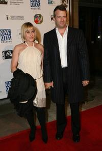 Patricia Arquette and Thomas Jane at the Cinema Italian Style Opening Night Celebration.