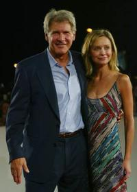 Harrison Ford and Calista Flockhart at the 59th Venice Film festival.