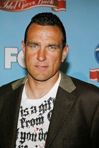 Vinnie Jones at the taping of Idol Gives Back.