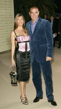Vinnie Jones and wife at the 2003 laureus sports awards.