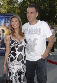 Tanya Jones and Vinnie Jones at the premiere of