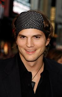 Ashton Kutcher and Demi Moore at the premiere of