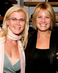 Alison Sweeney and Sherry Stringfield at the grand opening of Martin and Osa store benefitting Step Up Women's Network.