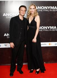 August Diehl and Nina Hoss at the premiere of