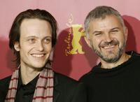 Michael Glawogger and August Diehl at the 56th Berlinale Film Festival.