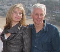 Kerry Fox and Michael Grigsby at the 18th Dinard British Film Festival.