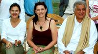 Virginie Ledoyen, Kerry Fox and Shashi Kapoor at the photocall of Marrakech Film Festival.