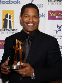 Jamie Foxx at the The Hollywood Awards Gala.
