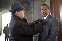 Bruce McGill and Jamie Foxx in