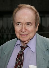 Joe Franklin at the New York premiere of