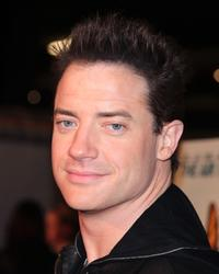 Brendan Fraser at the premiere of