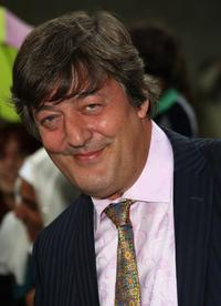 Stephen Fry at the premiere