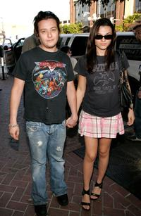 Edward Furlong and Rachael Bella at the West Coast premiere of