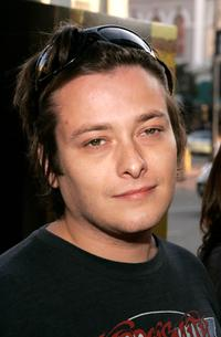 Edward Furlong at the West Coast premiere of