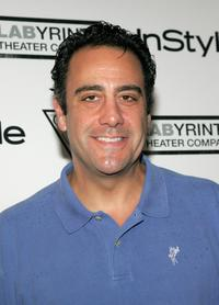 Brad Garrett at the 3rd Annual Benefit for Labyrinth Theater Company.