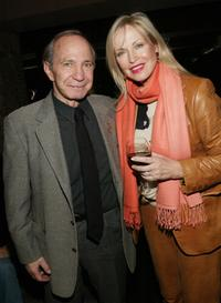 Ben Gazzara and wife Elke at the New York Premiere after-party of
