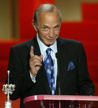 Ben Gazzara at the 53rd San Sebastian International Film Festival's Donostia award.