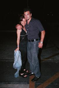 Jason Gedrick and his date at