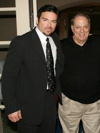 Jason Gedrick and Producer Sonny Grosso at the 2007 Winter TCA Press Tour.