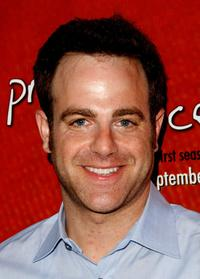 Paul Adelstein at the release party of