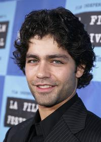 Adrian Grenier at the opening night of the Los Angeles Film Festival with the premiere of 20th