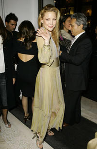 Kate Hudson at the Versace store reopening party at the Versace Fifth Avenue Boutique in N.Y.