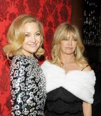 Kate Hudson and Goldie Hawn at the after party of the New York premiere of